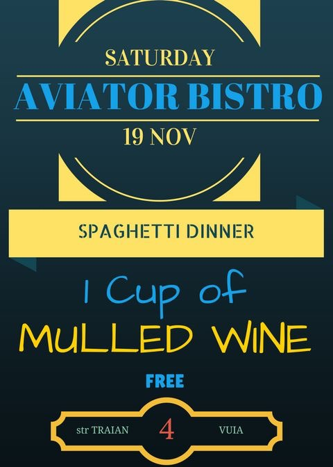 Spaghetti dinner - Aviator Boutique Hotel - Otopeni